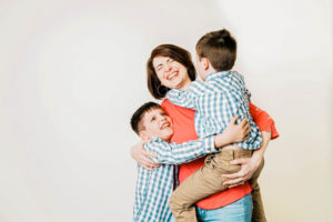 family portrait, Mother's Day Minis, West Hartford CT, Christina Wesley Photography