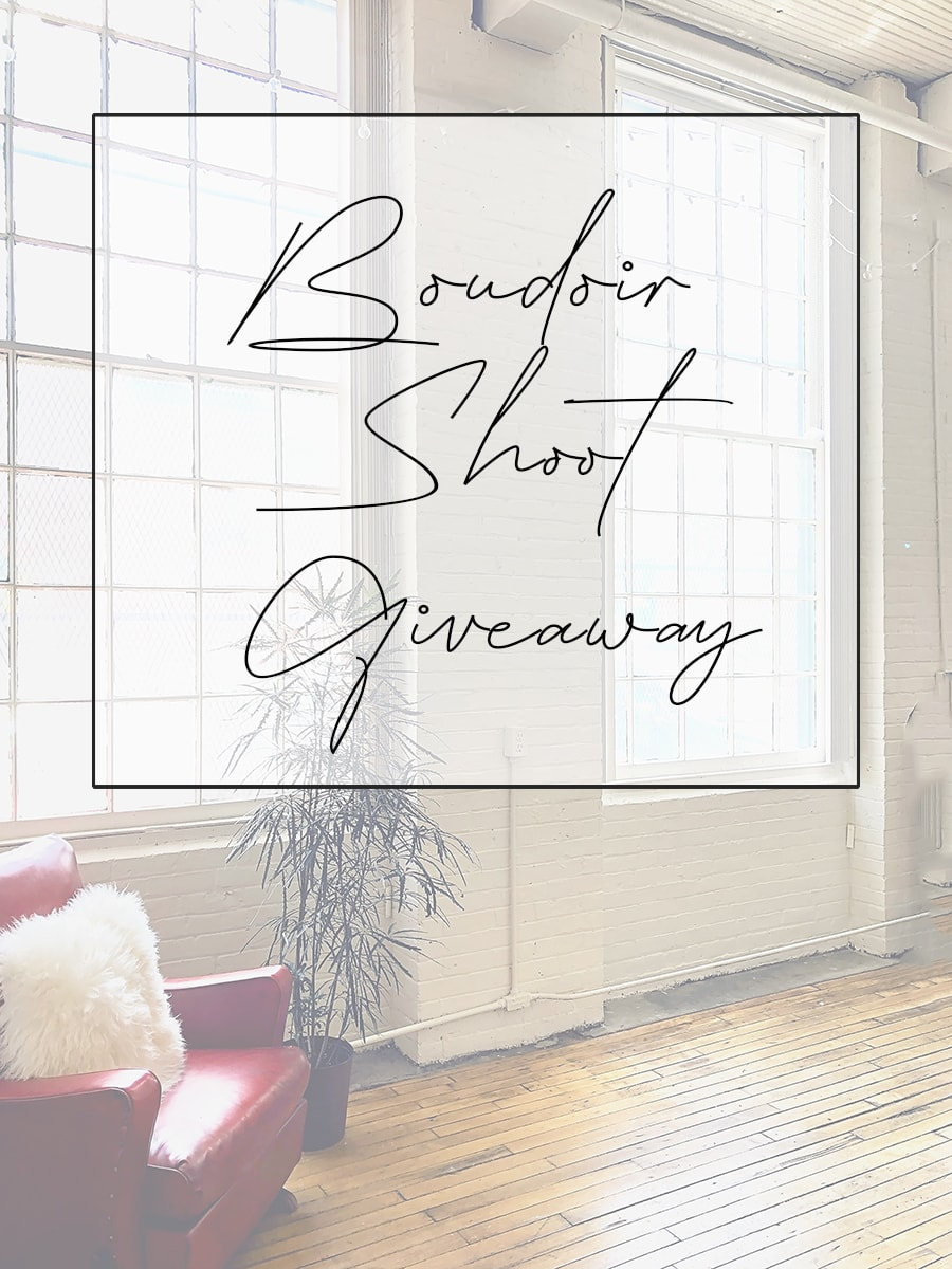 La Femme Boudoir Photography Boudoir Shoot Giveaway on Instagram