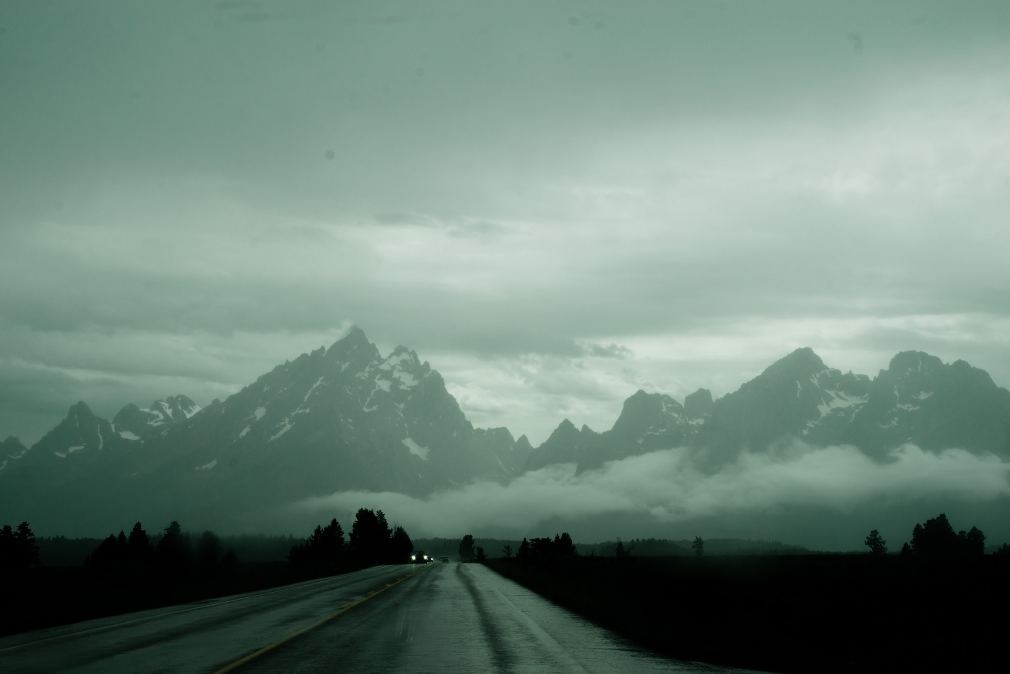 The Grand Tetons by Christina Wesley